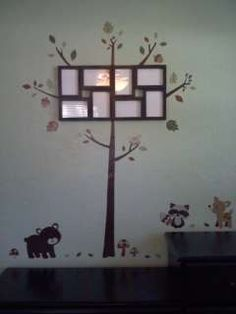 carters forest friend   Customer Image Gallery for Carters Forest Friends Wall Decals, Tan