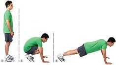 The proper way to complete your burpee