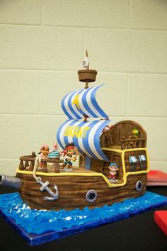 Bucky cake from Jake and the Neverland pirates