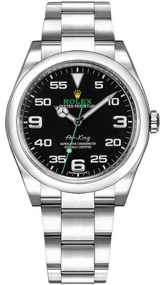 116900 Rolex Oyster Perpetual Air-King 2016 Edition Men's Watch - Brand New - Authenticity Guaranteed - Rolex Watch Sale