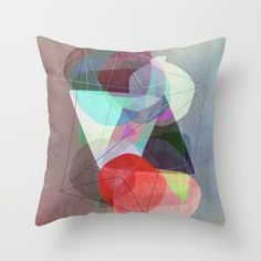 Graphic 117 Y Throw Pillow