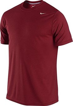Nike Men's Legend Dri-FIT(tm) Poly Short Sleeve Crew Top Team Red T-Shirt  XL: The Nike Legend Dri-FIT Poly Men's Training T-shirt delivers an ...