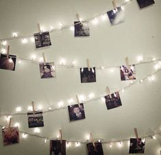 I would love to display pictures like this in a girls bedroom because it is a great way to put up memories on the wall to remind me of good times.