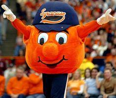 Syracuse University Orange - mascot Otto the Orange