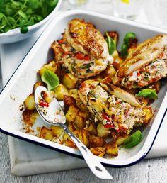 Easy ricotta-stuffed chicken breasts - delicious. magazine