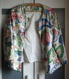 Whimsical Flowers Jacke
