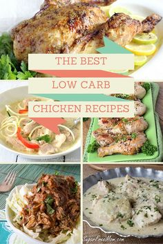 45 Healthy, Low Carb & Gluten Free Chicken Recipes