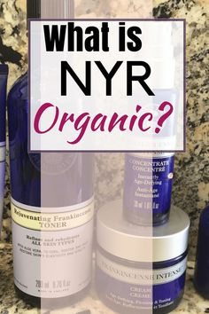 What is NYR Organic? The difference between this and Neal's Yard Remedies. Get details on this awesome organic skincare.  - Peppermint Tulip