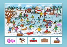 Weather For Kids, Winter Kids, Preschool Decor, Preschool Math, Winter Activities For Kids, Hidden Pictures, Seasons Of The Year, Speech And Language, Pre School