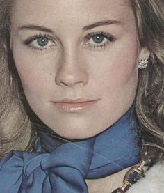Cybill Shepherd.  I remember watching Moonlighting.