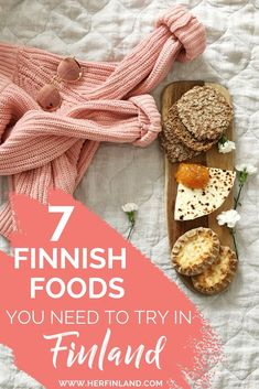 Wondering what Finnish Foods You should to Try when visiting Finland? Here are 7 local's suggestion to buy at a Finnish grocery store. Click over to read more! #Finnishfood #Finnishfoodtraditional