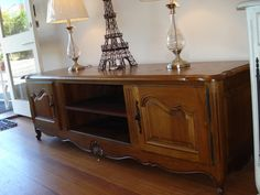 Versailles Widescreen Tv Cabinet With Gl Doors From Home Decorators Pinterest And