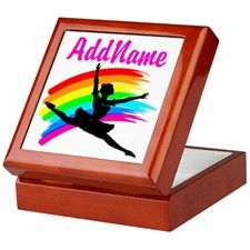 DANCING STAR Keepsake Box Inspirational Dancer and Ballerina jewelry and keepsake boxes that makes a memorial gift for every occasion.   http://www.cafepress.com/sportsstar/10423569 #Dancer #Dancergifts #Ballet #Ballerina  #Personalizeddancer #Dancerjewelry #Ballerinajewelry