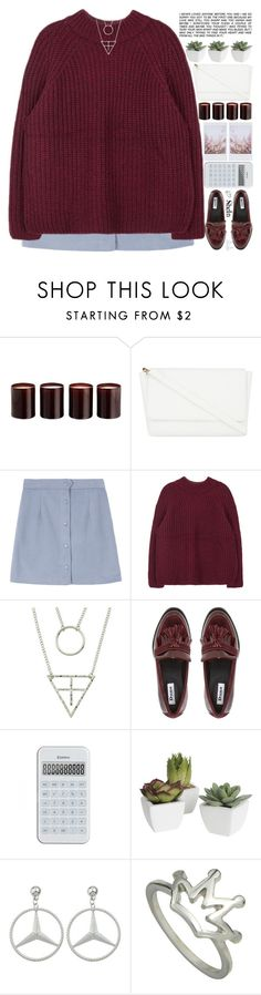 """""""to all of my followers (˃̥̥ω˂̥̥̥)"""" by alienbabs ❤ liked on Polyvore featuring Laura Mercier, Skinnydip, Pier 1 Imports, clean, organized and shein"""