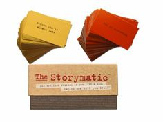 Amazon.com: The Storymatic -- Tell Stories and Unleash Your Imagination with 540 Unique, Creative Cards -- Trillions of Combinations Means L...