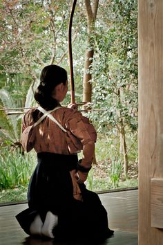 Japanese archery, Kyudo 弓道 - with Independent Adventure www.independentadventure.co.uk