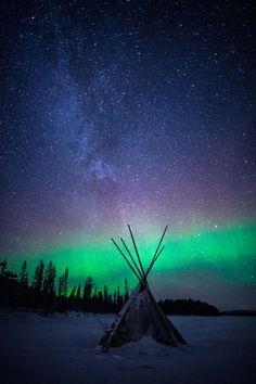Finland Northern Lights  | sky | | night sky | | nature |  | amazing nature |  #nature #amazingnature  https://biopop.com/