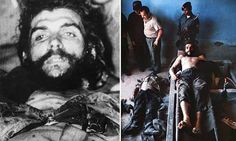 Photos kept in family show Che Guevara after he was killed