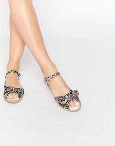 ASOS JILLY ANNE Bow Espadrille Sandals