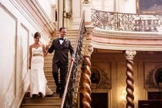 Anderson House Wedding, DC | Happy Couple Photography
