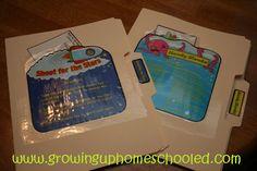 File folder games for elementary fun