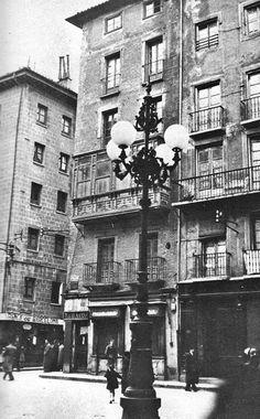 1933-PLAZA  DEL  AYUNTAMIENTO-Casa Seminario