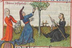 « Le Champion des Dames, » par « MARTIN LE FRANC, prevost de l'église de Lausane. » (1440). Date d'édition : 1401-1500 Français 12476 Folio 104r