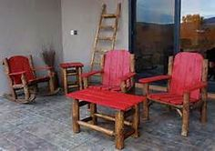 log outdoor furniture - Yahoo Search Results Yahoo Image Search Results Outdoor Chairs, Outdoor Furniture, Outdoor Decor, Yahoo Search, Image Search, Whimsical, Home Decor, Decoration Home, Room Decor