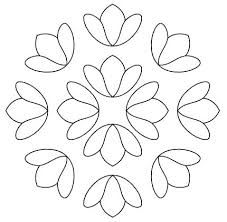 patterns for pointillism - Stickerei Ideen Mexican Embroidery, Embroidery Patterns Free, Hand Embroidery Patterns, Floral Embroidery, Cross Stitch Embroidery, Quilt Patterns, Machine Embroidery, Quilting Templates, Quilt Stitching