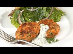 Easy Salmon Cakes Recipe
