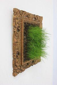 Sculptor: Laura Phelps Rogers - sculpture: Grass in Frame - Sculpture.org - Sculpture.org Grass, Art Projects, Contemporary Art, Organic, Sculpture, Artists, Home Decor, Decoration Home, Room Decor