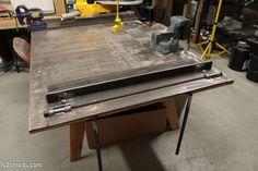 """How to make a DIY 30"""" Metal Brake"""