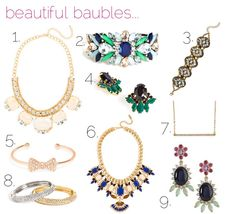 jillgg's good life (for less) | a style blog: beautiful baubles...
