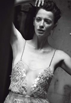 Milagros Schmoll by Peter Lindbergh for Vogue Italia September 2013 Supplement