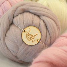 Gentle Giant Yarn Pure Merino by Wool Couture Giant Knitting, Arm Knitting, Knitting Needles, Wool Yarn, Merino Wool, Chunky Wool, Gentle Giant, Crochet Basics, Yarn Needle