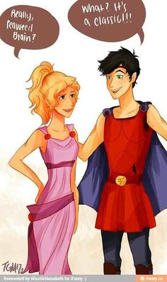 ~Percy and Annabeth as Herc and Meg!! ♥♥♥~