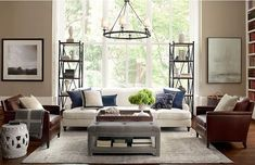 30 Pottery Barn Living Room Decorating Ideas For Your Classic Home