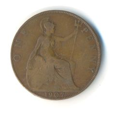 George V Penny 1935 Vintage Coin Code: by JMCVintagecards Postage Rates, Penny Coin, Coins For Sale, Mall, Coding, Money, Etsy, Vintage, Silver