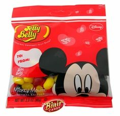 Jelly Belly Mickey Mouse Jelly Beans 2.8oz Bag: BlairCandy.com