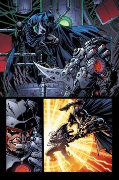 Superman-Batman 79 p7, Lines by Jesus Merino, Color by BlondTheColorist