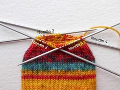 Winwick Mum: Beginner sock knitting: Sockalong - Week 3 - Foot, toe and grafting the toes Loom Knitting Stitches, Sock Knitting, Free Knitting, Simply Knitting, Knitting Paterns, Finger Knitting, Knitting Machine, Vintage Knitting, Crochet Socks