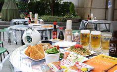 グランド ハイアット 東京が昭和レトロなビアガーデンを開催