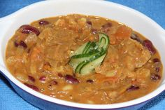Onion tomato curry with Rajma
