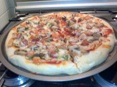 Faça a receita de Massa de pizza deliciosa Com certeza vai ser um sucesso na sua casa. Surpreenda-se com os elogios Massa de pizza deliciosa Imprimir Autor