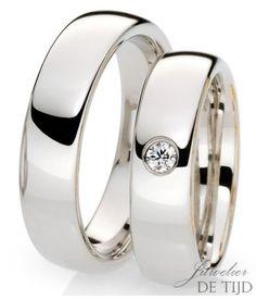 14 kt gouden trouwringen profiel Oval - Juwelier de Tijd | Persoonlijk advies over trouwringen, sieraden en taxaties