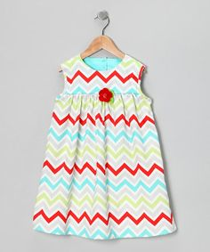 Take a look at this Red & Blue Eliza Dress - Infant, Toddler & Girls by Sweet Petunia on #zulily today!