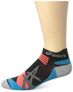 ASICS Kayano Single Tab Sock BlackAtomic Blue Medium >>> Want additional info? Click on the image.(This is an Amazon affiliate link)