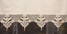 ecru crochet lace