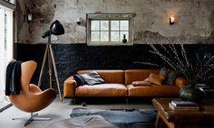 Arne Jacobsen egg chair | Design | Interior Design | Living Room