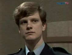 Colin Firth's first ever role as PC Franklin in a 1984 episode of Crown Court.